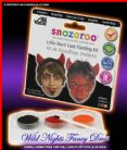 SNAZAROO DEVIL PACK FACE PAINT THEME PACK
